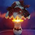Origami 3d lamp