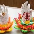 Origami 3d lotus