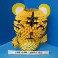 Origami 3d tigre