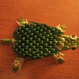 Origami 3d tortue