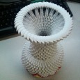 Origami 3d vase instructions