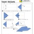 Origami aeroplane easy