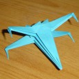 Origami avion star wars