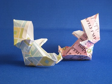 origami baby instructions