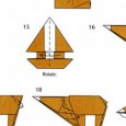 Origami bear instructions