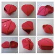 Origami boite coeur facile video