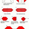 Origami bow tie instructions