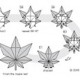 Origami cannabis leaf instructions