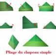 Origami chapeau chinois