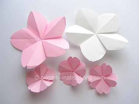 origami cherry