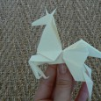 Origami cheval simple