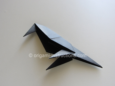 origami crow instructions
