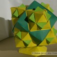 Origami cube modulaire