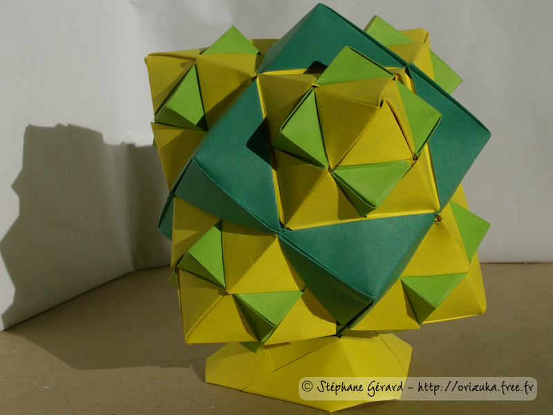 origami cube modulaire