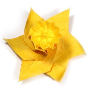 origami daffodil instructions