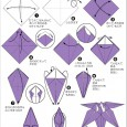 Origami daffodil step by step