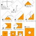 Origami envelope diagram