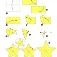 Origami étoile 3d