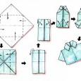 Origami facile chemise