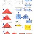 Origami facile enveloppe