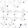 Origami facile poule
