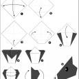 Origami facile tete de cheval
