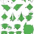 Origami facile tortue
