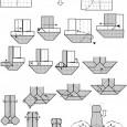 Origami facile voiture