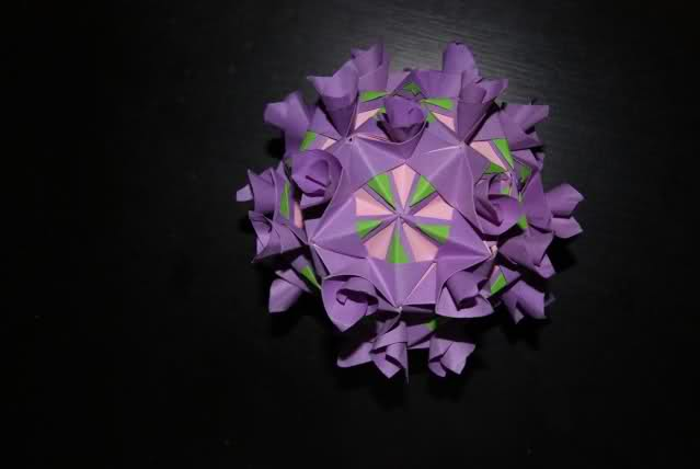 origami flower complex