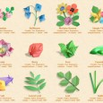 Origami flower instructions printable