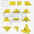Origami for kids butterfly instructions