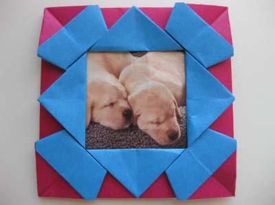 origami frame