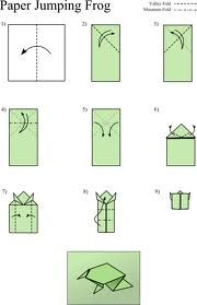 origami frog simple