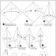 Origami ghost instructions