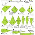 Origami grasshopper instructions