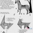 Origami horse diagram