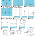 Origami instructions dress