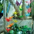 Origami jars
