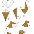 Origami kutya