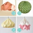 Origami lamp instructions