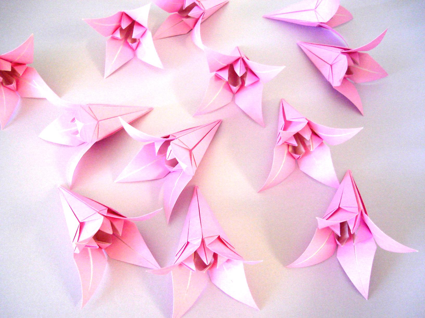 том, что цветы из оригами картинки ощущения могут