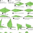 Origami lizard instructions