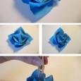 Origami mawar 3d