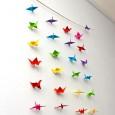Origami oiseau qui vole