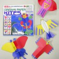 Origami paper kites