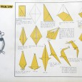 Origami parrot step by step
