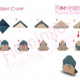 Origami penguin step by step