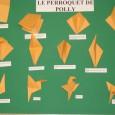 Origami peroquet