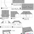 Origami piano instructions
