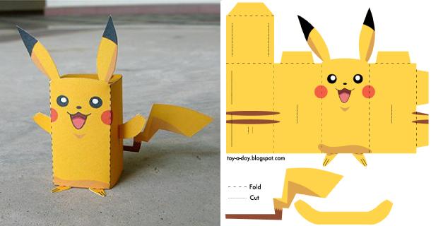 Origami Pikachu Facile